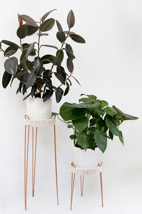 copper-midcentury-plant-stands