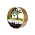 Medium wall hung circular planter